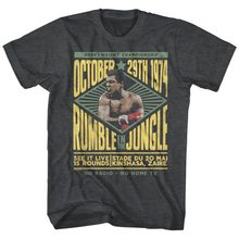 Muhammad Ali Rumble In The Jungle Kinshasa Zaire 1974 Mens Boxing Legend Hot Sale Design Fashion Personality Shirts High Quality(China)