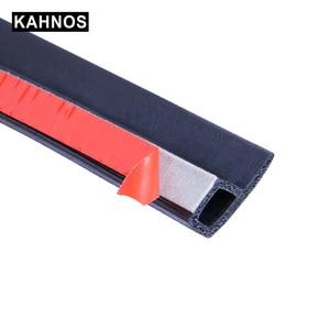 Image 2 - Joints détanchéité en caoutchouc pour porte de voiture, Type P, bande détanchéité Anti poussière, isolation phonique