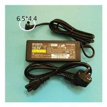 Yeni orijinal 19.5V 3.9A AC güç adaptörü SONY VAIO VGP AC19V37 VGP AC19V38 VPCW VPC W