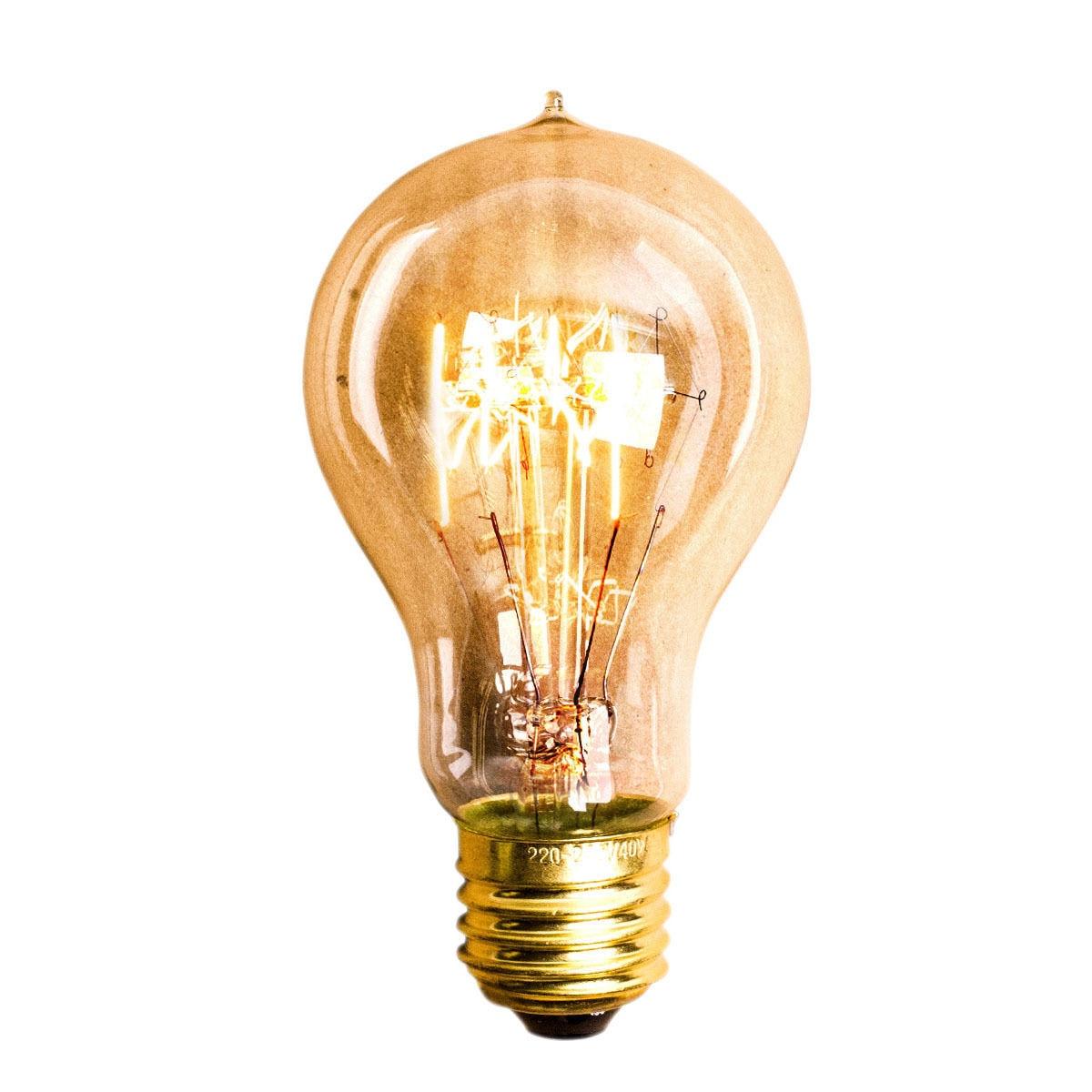 60W Filament Light Bulbs Vintage Retro Incandescent Bulbs Industrial Style Edison Lighting LampSize:E27