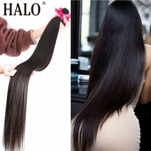 Brasilianische Haarwebart Bundles Gerade 28 30 32 40 Zoll 1 3 4 Bundles Natürliche Farbe 100% Menschliches Haar Lange remy Haar Extensions