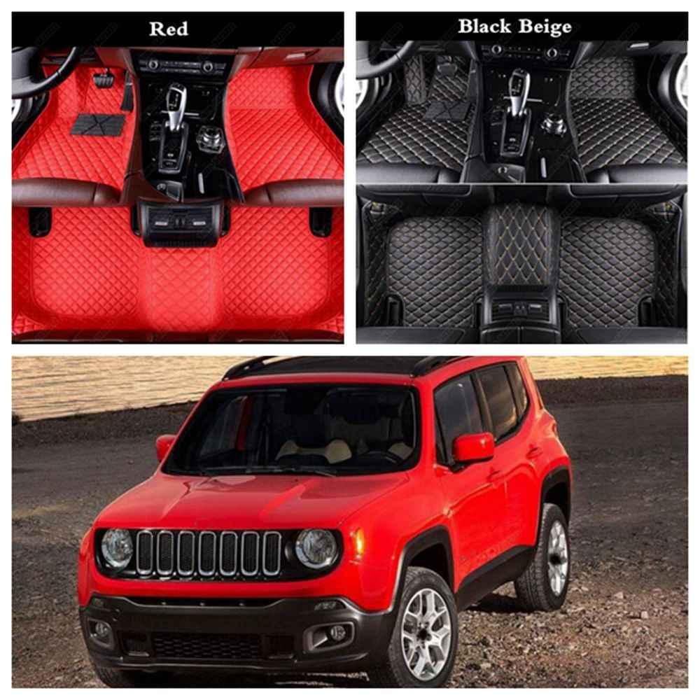 Fußmatten nach Maß für Jeep Cherokee,Compass,Grand Cherokee,Patriot,Wrangler