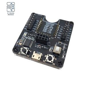 ESP8266 Тесты рамки горелки макетная плата WI-FI модуль нажатием одной кнопки загрузки Поддержка для ESP-12F ESP-07S ESP-12E ESP-01S ESP12S