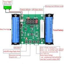 XH-M240 18650 probador de capacidad de batería de litio maH mwH descarga digital monitor de batería de carga electrónica