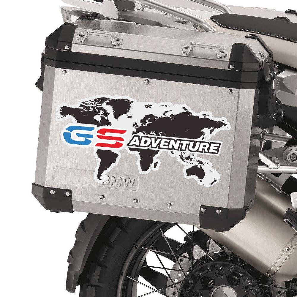!!! BMW MOTORCYCLE R1200GS//GSA//F800GS MOTORRAD TOP CASE DECAL//STICKERS