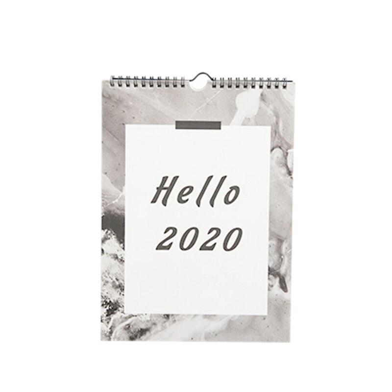 1PC Wall Calendar Agenda 365 Days Daily Planner Notes To Do List Tearable Desk Calendar Decoration Creative Calendar