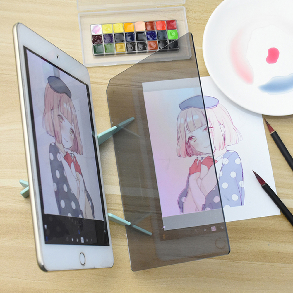 New Optical Imaging Drawing Board Dimming Bracket Painting Mirror Plate Tracing Copy Table Projection Linyi Board Plotter New