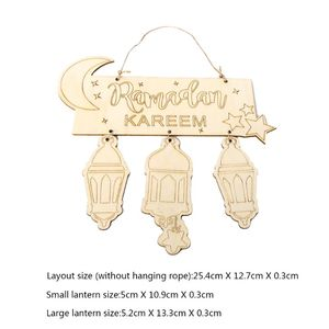Image 5 - Décorations du Ramadan musulman Eid Mubarak