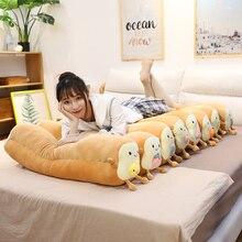 Pillow Plush-Toy Food-Toast Bread Sleeping-Bolster Fully-Stuffed Long Animal Creative Gift