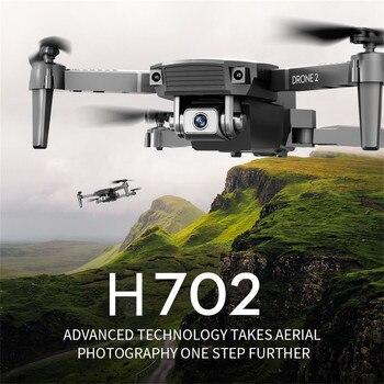 H702 Mini WiFi FPV HD RC Drone  Camera Altitude Hold Mode Foldable RC Drone Quadcopter Remote Control Drone 3