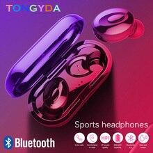 цена на XG15 TWS Bluetooth 5.0 Earphone True Sport Wireless Earphone IPX5 In-Ear Earbuds Stereo Bass Bluetooth Headset Mini Earpiece