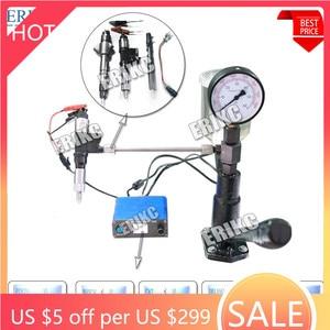 Image 1 - ERIKC CRI800 Auto Engine Diesel Injector Tester Machine S60H Fuel Piezo Injection Nozzle Tester Equipment 220V & 110V