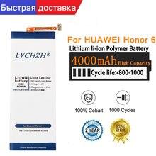 Оригинальный аккумулятор для Huawei honor 4X, honor 6, задний фонарь, искусственный фонарь, HB4242B4EBW, 4000 мАч