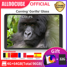 ALLDOCUBE iPlay20 10.1 inch Android 10 Tablet 4GB RAM 64GB ROM Octa Core Tablets PC 1920*1200IPS iplay 20