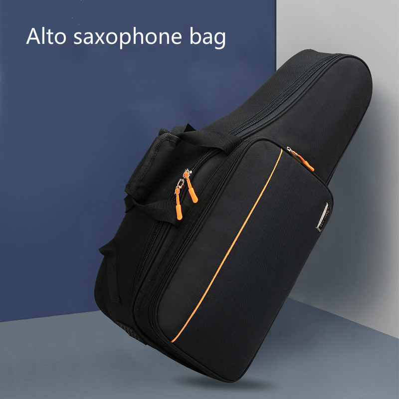 Drop E Saxophone Bag Alto Saxophone Soft Bag Light Instrument Bag Cover Thickened Water Can Be Loaded with Music