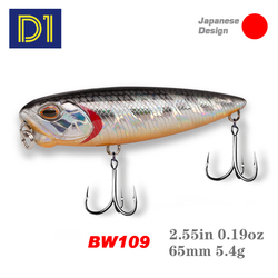 Bassland Realis Pencil 65 Fishing Lures 65mm 5.5g Artificial Hard Bait Z-Shaped Floating Stickbait Bass Trout Fishing Tackle