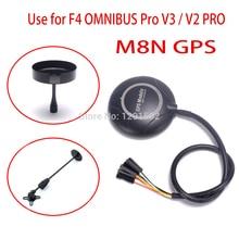 M8N GPS 모듈 (나침반 + GPS 홀더 포함) F4 용 OMNIBUS Pro V3 / FLIP 32 OMNIBUS F4 V2 PRO 컨트롤러 보드 (Quadcopter 용)