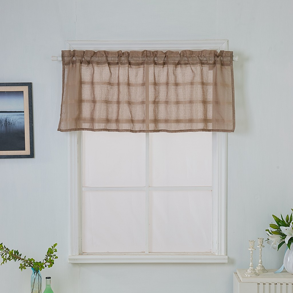 2019 Living Room Window Translucidus Curtains Valances Door Curtain Kids Window Screening Solid Color Panel Sheer Tulle Curtains From Lifegreen
