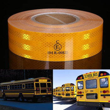 Safety Reflective Warning Strip Tape Car Bumper Reflective Strips Secure Reflector Stickers Decals Car Styling 10pcs 3x8cm reflective warning strip tape car bumper reflective strips secure reflector stickers decals car styling