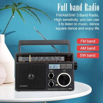 Радиоприемник RETEKESS TR618 AM/FM/SW MP3 TF/SD-Card 5