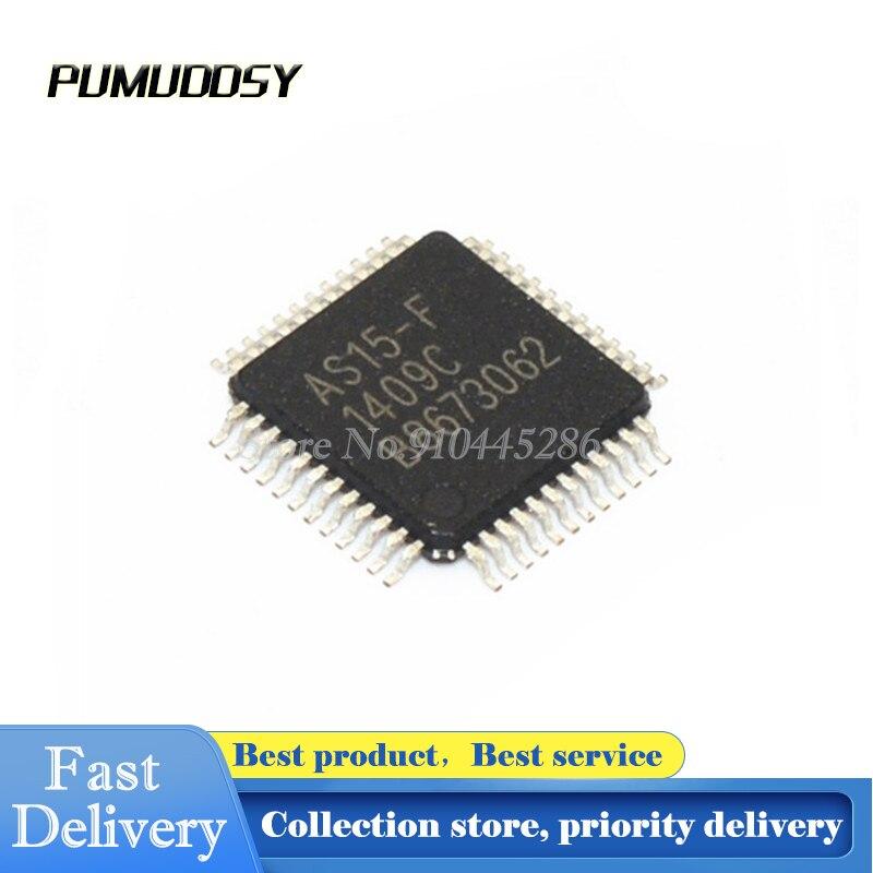 2 шт./лот AS15-F AS15F QFP48 AS15 LCD chip QFN-48 IC QFP