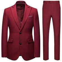 Suit set of 2,man suit slim fit,, men dress suits, prom mens suits slim,2 piece men, for wedding