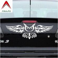 Aliauto автомобиля логотип сзади украшение Сова укладки Смешные автомобильные Стикеры Anbd наклейка для Mazda 2 3 5 6 CX-3 CX-5 CX-7 MX-3 MX-5 Axela