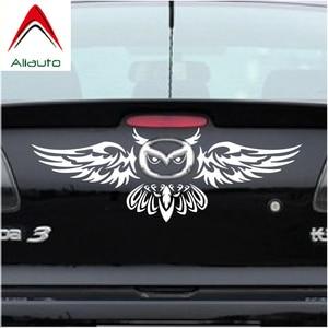 Aliauto Car Rear Logo Decoration Owl Styling Funny Car Sticker Anbd Decal For Mazda 2 3 5 6 CX-3 CX-5 CX-7 MX-3 MX-5 Axela(China)