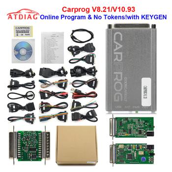 Najnowszy V8 21 V10 93 Carprog pełny Adapter samochodowy Prog 8 21 z programatorem keygen Online dla radia Dash IMMO ECU narzędzie do naprawy samochodów tanie i dobre opinie CN (pochodzenie) Other V10 05 10 93 v8 21 english Czytniki kodów i skanowania narzędzia Auto Repair Tools ECU Programmer Chip