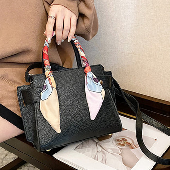 textured pu leather women trendy top handle bags all match elegant shopping shoulder bag female luxury designer crossbody bags Textured PU Leather Women Trendy Top-handle Bags All-match Elegant Shopping Shoulder Bag Female Luxury Designer Crossbody Bags