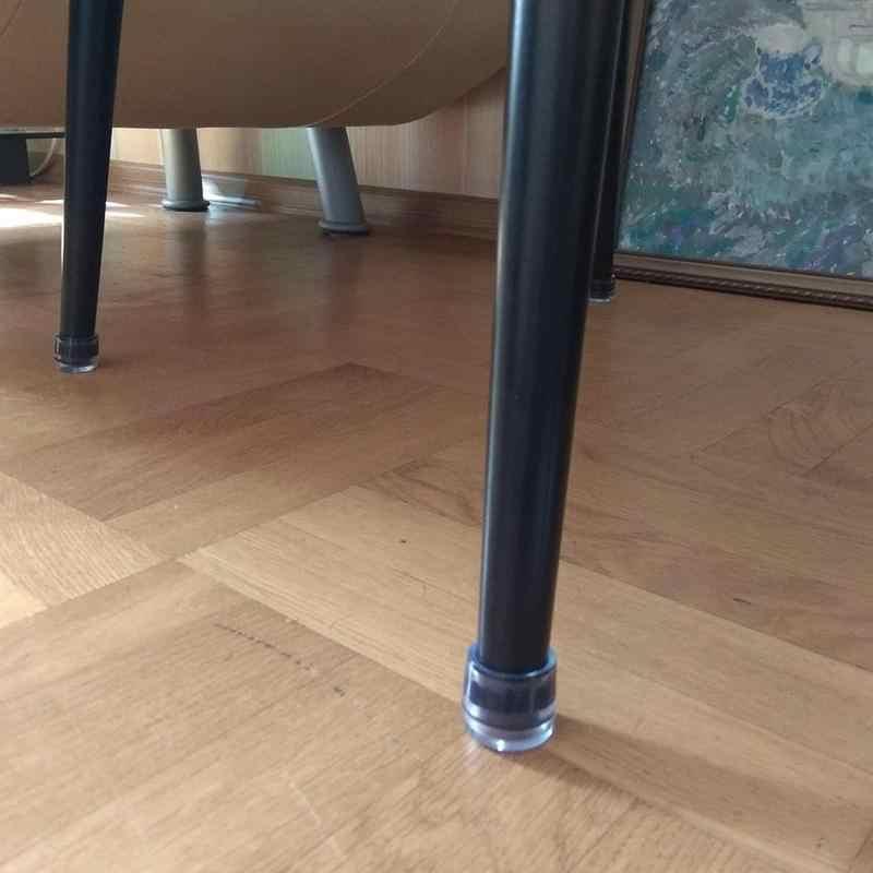 Dicke Verschleiß-beständig Nicht-slip Silikon Tisch Und Stuhl Fuß Abdeckung Möbel Stumm Massivholz Boden Schutz Pad stuhl Tisch Matte