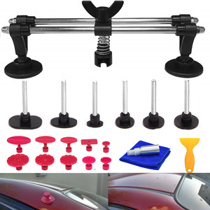 Image 4 - Furuix  Auto Body Paintless Dent Removal Tools Kit Dent Lifter Bridge Puller Set For Car Hail Damage And Door Dings Repair