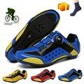 Мужские кроссовки для горного велосипеда, профессиональная обувь для горного велосипеда, для спорта на открытом воздухе, самоблокирующиес...