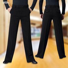 Doubl Brand Ballroom New Dance Pants Lady #8217 s for Men #8217 s Standard Latin Dancing Salsa Waltz Pocket Flap Wide Straight Legs cheap Polyester
