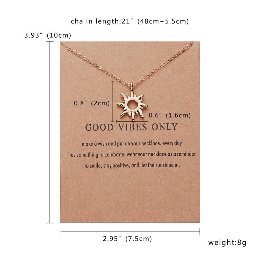 Rinhoo Karma, Двойная Цепочка, круглое ожерелье, золотое ожерелье с подвеской, модные цепочки на ключицы, массивное ожерелье, Женские Ювелирные изделия - Окраска металла: 4