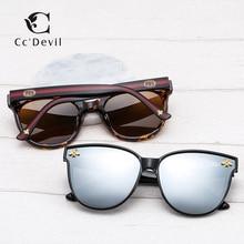 Luxury Brand Bee Polarizing Sunglasses Mirror Lenses UV400 Retro Men Women Shades Unisex Eyewear Vintage sunglasses Female