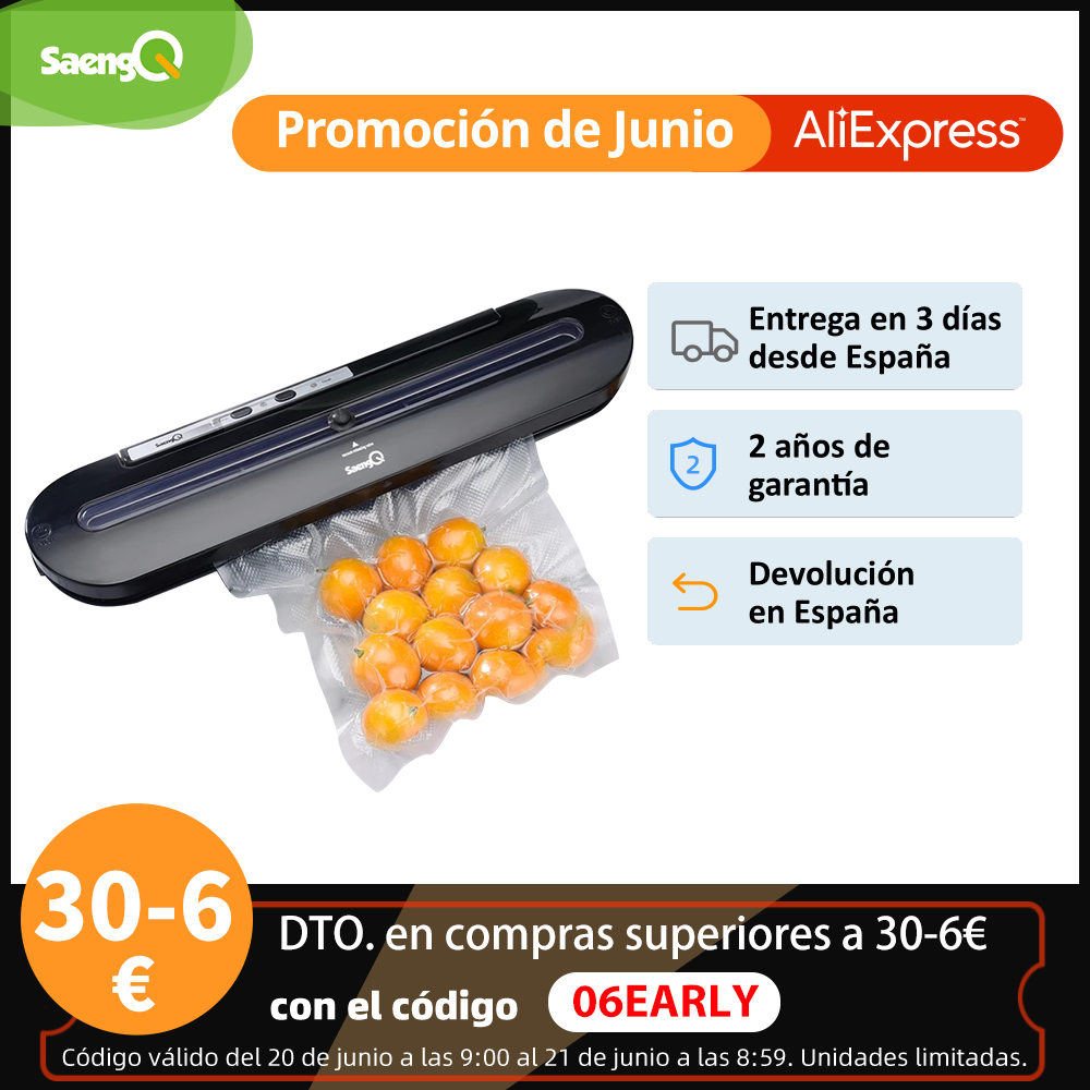 saengQ Best Vacuum Food Sealer 220V/110V Automatic Commercial Household Food Vacuum Sealer Packaging Machine Include 10Pcs Bags Vacuum Food Sealers  - AliExpress
