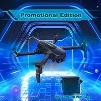 Hubsan ZINO PRO RC Drone Quadcopter GPS 5G WiFi 4KM FPV con videocamera 4K HD sfera cardanica a 3 assi Panorama 2 batterie con borsa RTF