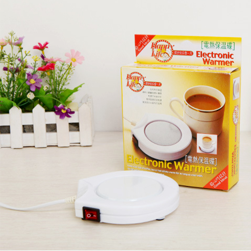 Usb Warmer Heater Pad Electric Powered White Electric Powered Cup Warmer Heater Pad Coffee Tea Milk Mug Office Kitchen House
