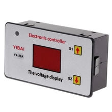 OOTDTY 12V Battery Low Voltage Cut off Switch On Protection Undervoltage Controller DC A5YD