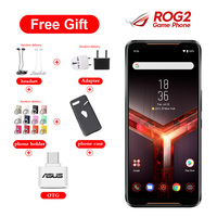 Brand New Asus ROG Phone II ZS660KL Mobile Phone 6.59 8GB 128GB Snapdragon855+ Dual SIM 6000mAh 48MP NFC Android9.0 ROG Phone 2