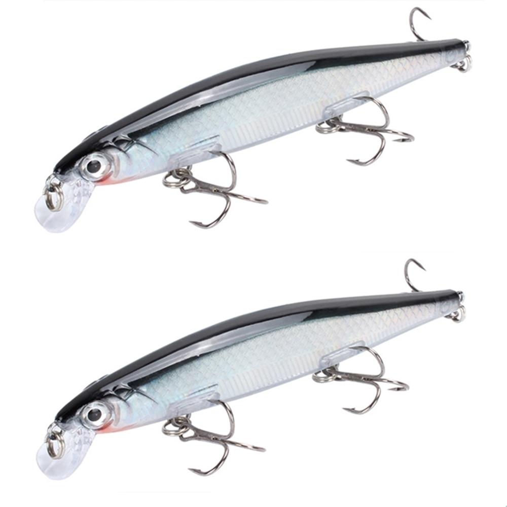 Minnow Fishing Lure 11cm 7.5cm Floating Wobblers Pesca Artificial Hard Bait 3 Hook Crankbait Bass Carp Lures Fishing Tackle