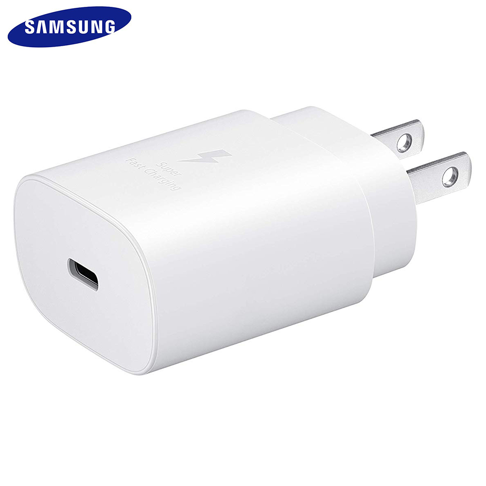 SAMSUNG EP-TA800 25W PD Super Fast Charger Quick US Charge For GALAXY Note10 10+ S10 5G Model for GOOGLE Pixel 4 3 2 XL And More