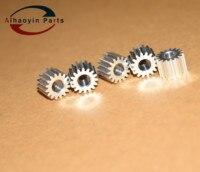 Engrenagem do motor da bandeja de papel de alumínio para xerox dc 4110 4595 4590 4112 4127  longa vida nova