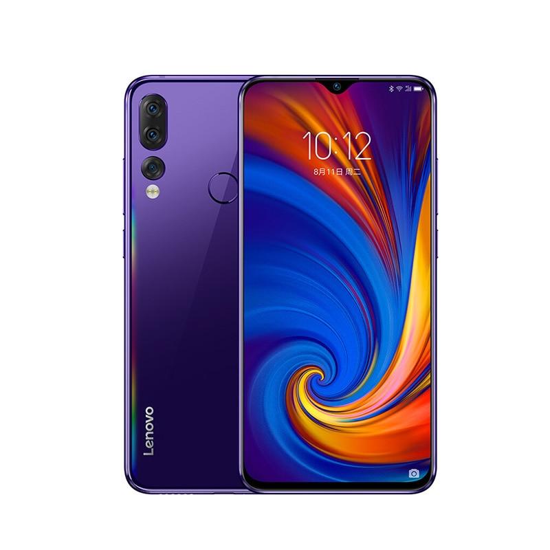Глобальный Встроенная память lenovo мобильного телефона 6 ГБ 64/128GB смартфон Z5S 6,3 дюймов 2340*1080 сзади Камера 16.0MP 8.0MP 5.0MP Восьмиядерный телефоны - Цвет: Blue