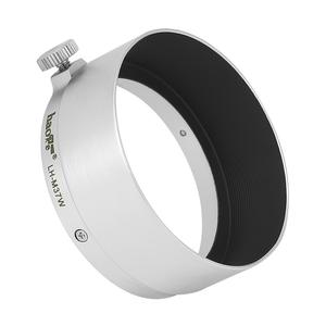 Image 1 - Haoge LH M37W Metal Lens Hood for Leica Leitz Elmar 3.5cm 35mm f3.5 replace A36 Silver