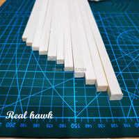 300 mm longueur 8 mm épaisseur largeur 9/10mm bande de bois AAA + Balsa bâtons de bois bandes pour avion/bateau modèle bricolage