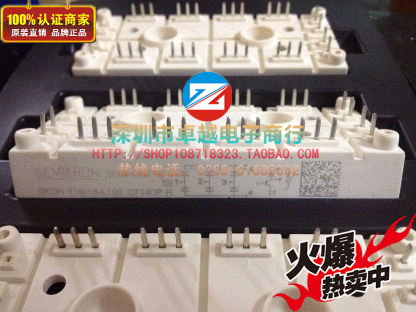 Germany SKDH116 / 16L100 SKDH146 / 16L75 Power Module Spot--ZYQJ