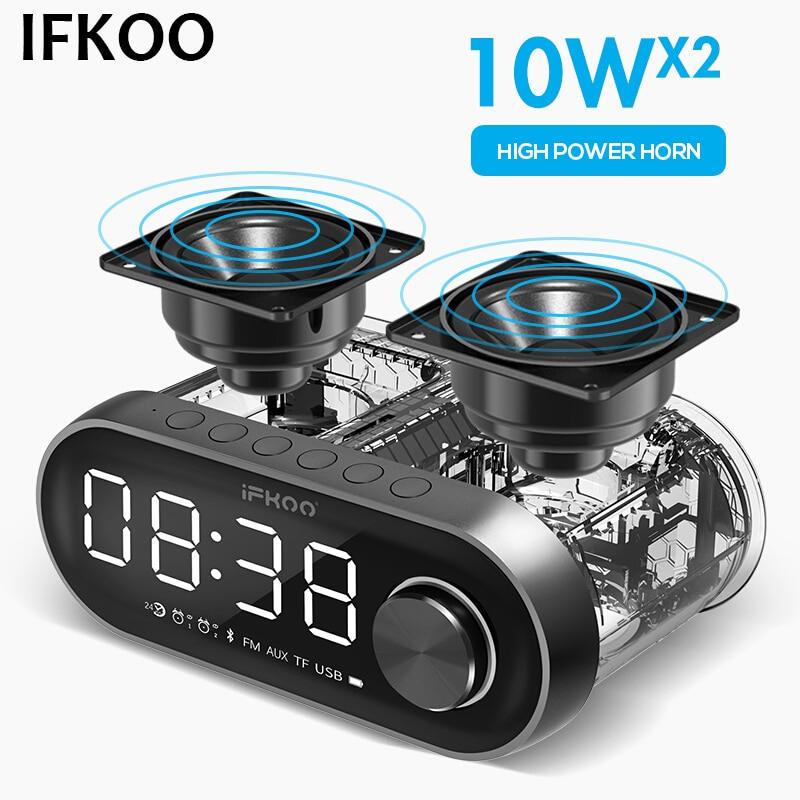 IF-Q5 sans fil Bluetooth haut-parleur double haut-parleur HIFI surround son Subwoofer voiture Audio Mini haut-parleur maison grand Volume nouvelle Radio