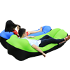 Outdoor Camping Inflatable Sofa Mat Lazy Bag 3 Season Ultralight Beach Sleeping Air Bed Lounger Sports Camping Travel